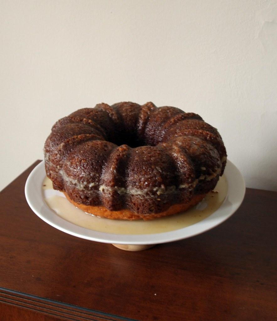 Mint Julep Bundt Cake