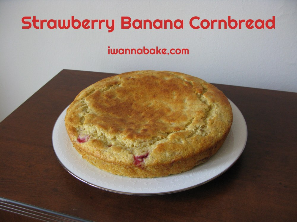 Strawberry Banana Cornbread 3