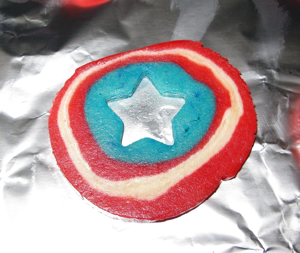 Shield with Star Cut Out