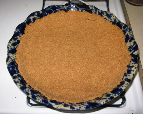 Baked Cookie Crumb Crust 1