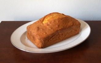 Baked Ginger Lime Madeira Cake
