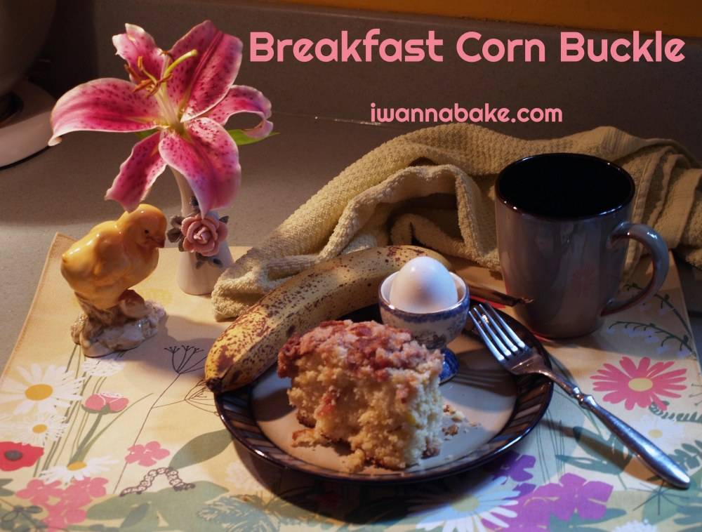 Breakfast Corn Buckle