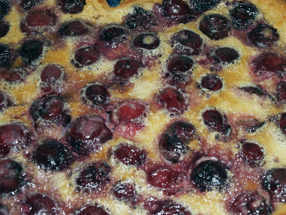 Clafoutis Close-up