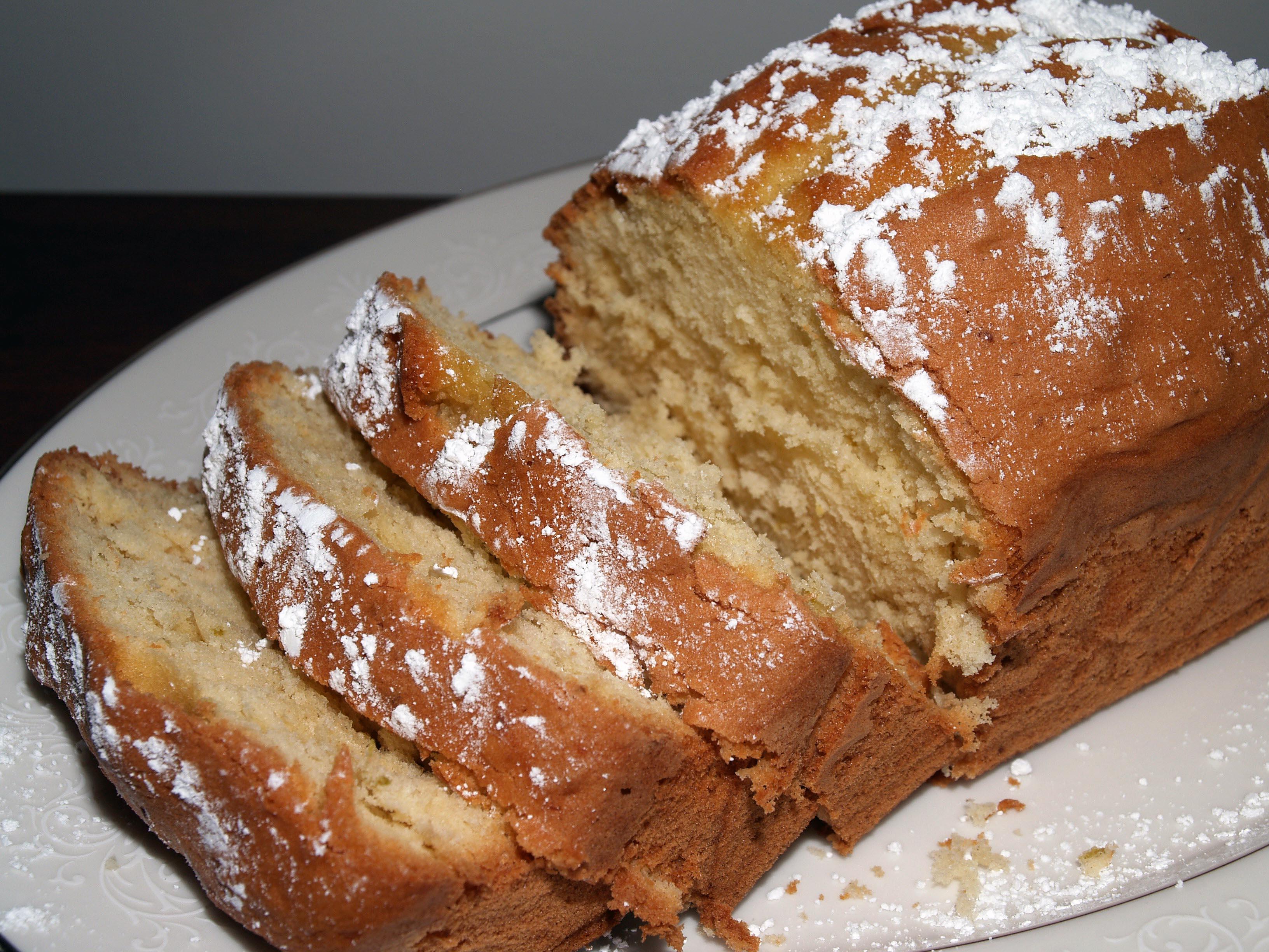 Cake Recipes In Pdf: Ginger Lime Madeira Cake