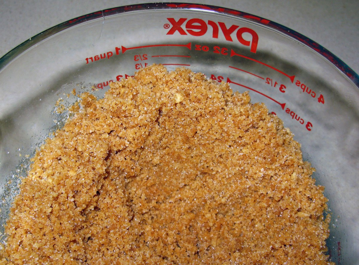 Pressed Cookie Crumb Crust