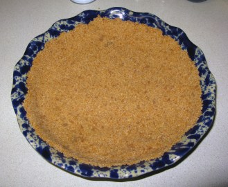 Shaped Cookie Crumb Crust