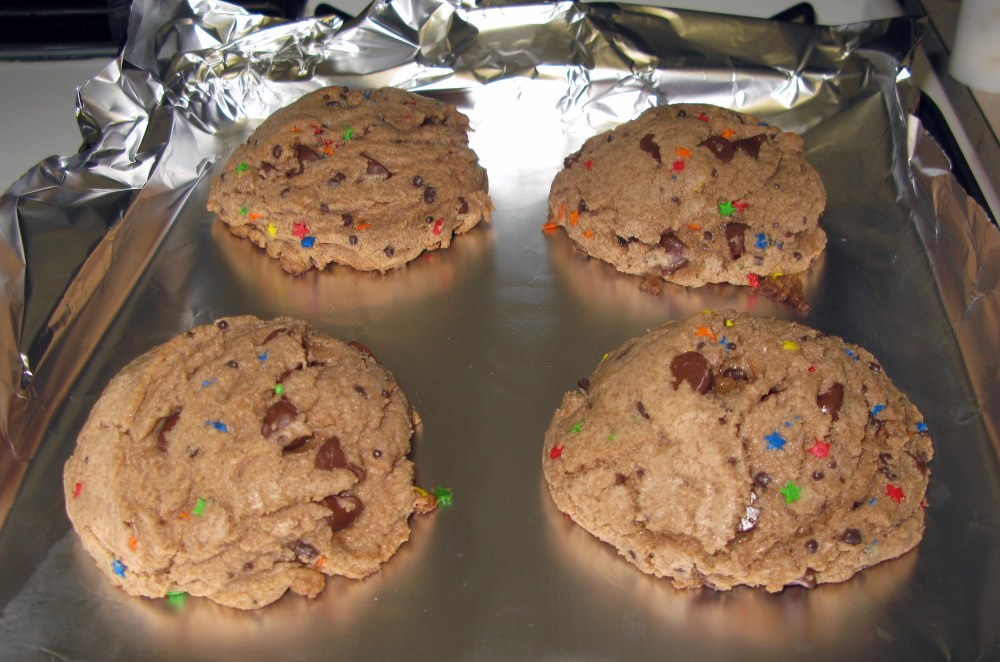 Baked Bad Day Cookies