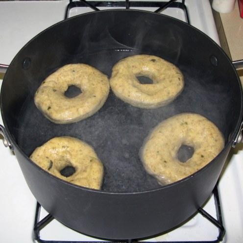 Boiling Bagels 1