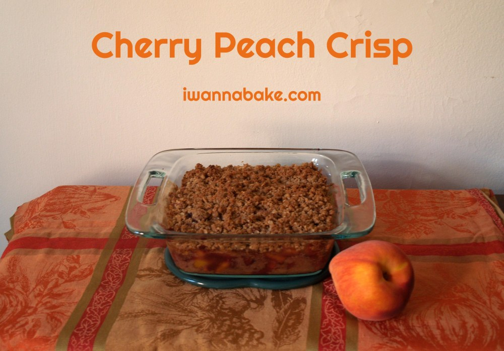 Cherry Peach Crisp