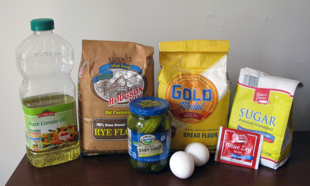 Pickle Bagel Ingredients