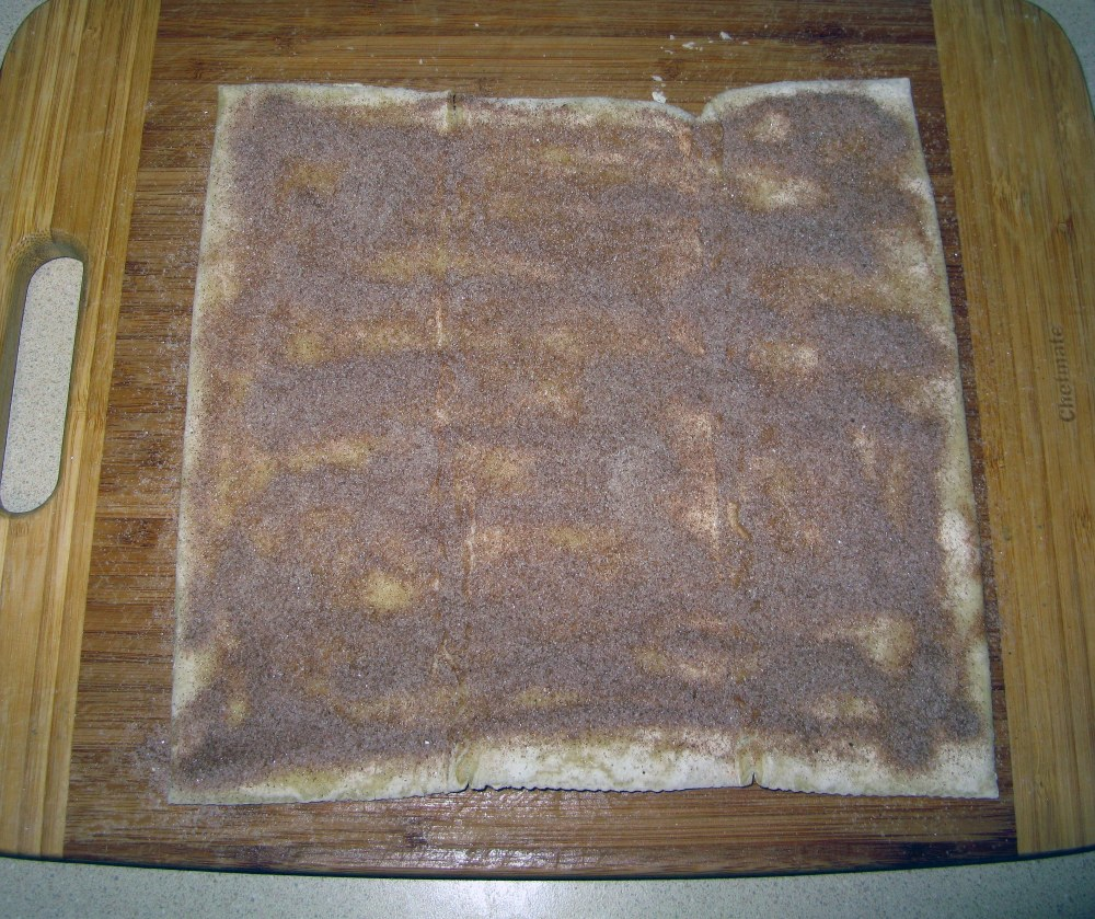 Puff Pastry with Cinnamon Sugar