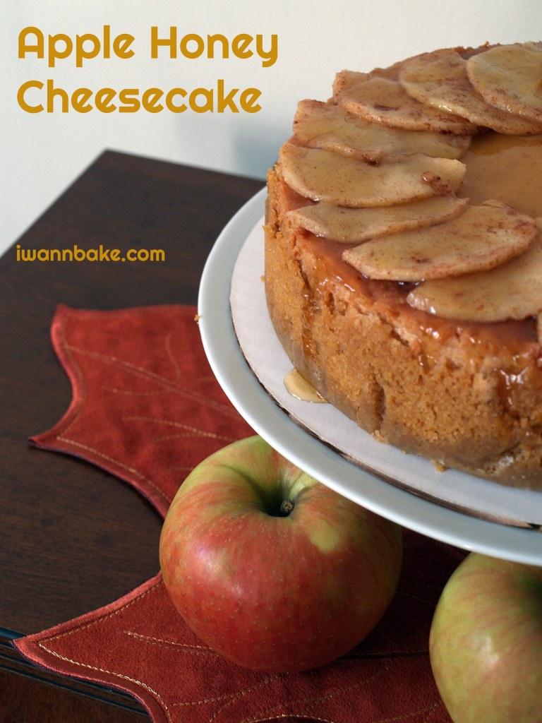 Apple Honey Cheesecake