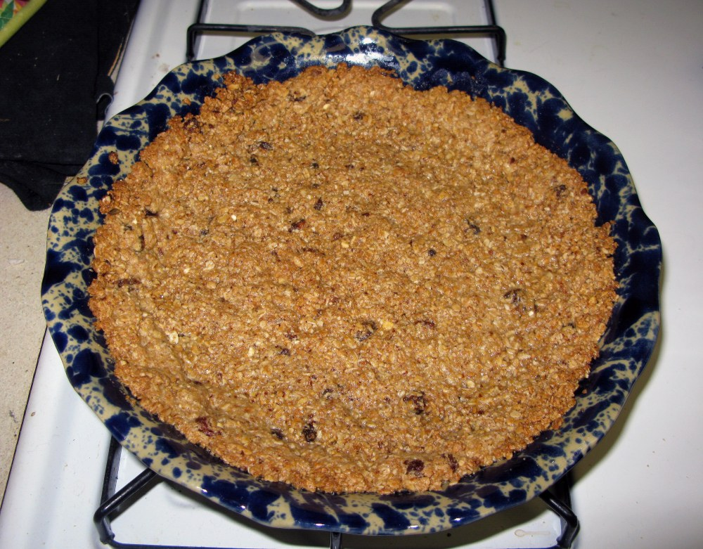Baked Granola Crust