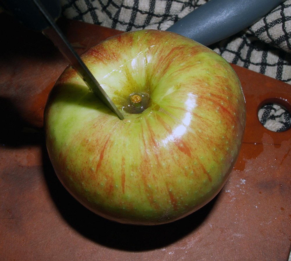 Coring the Apple