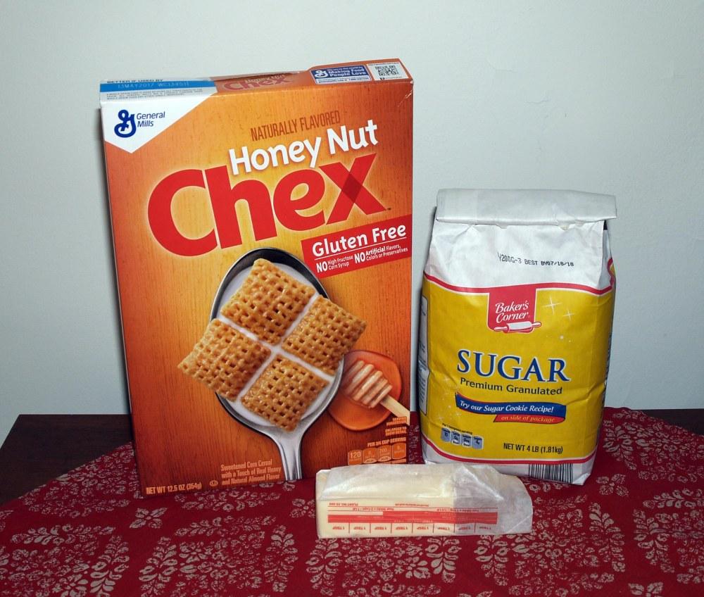 Honey Nut Chex Crust Ingredients