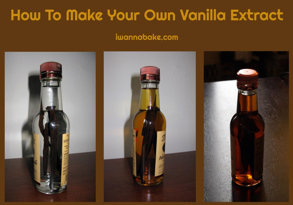 how to how to make your own vanilla extract