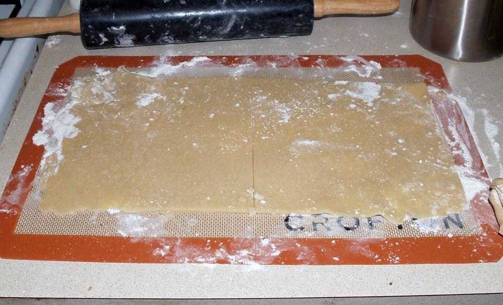 Trimmed Pie Crust Squares