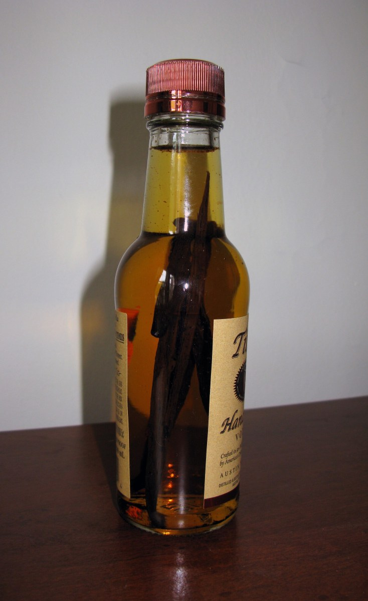 Vanilla Extract After 1 Week