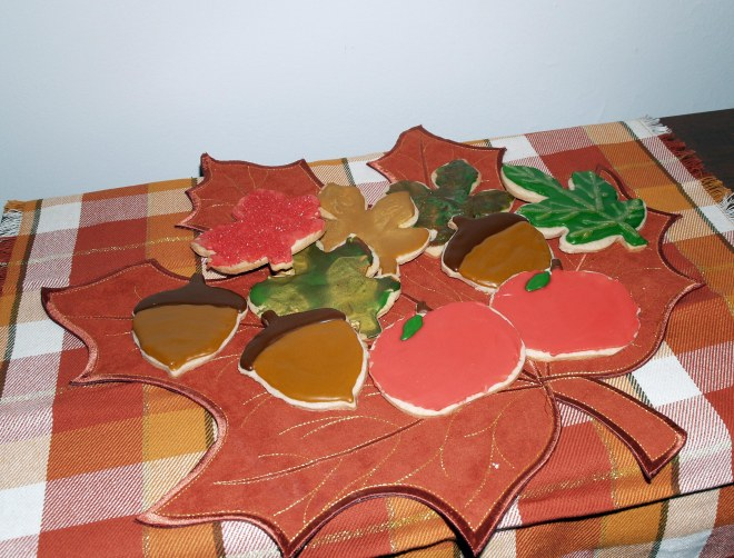 Apple Cider Cutout Cookies