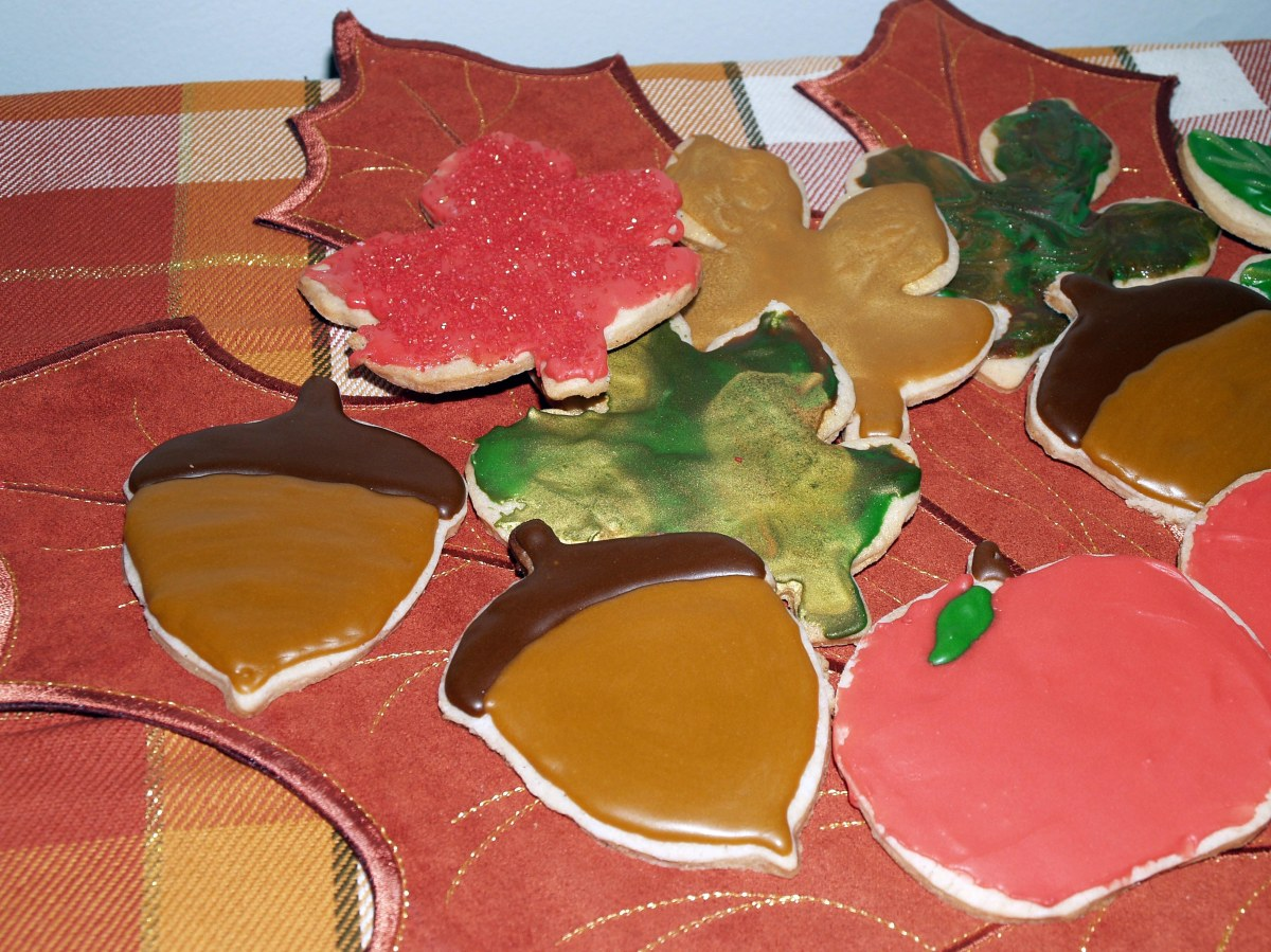 Apple Cider Cutout Cookies