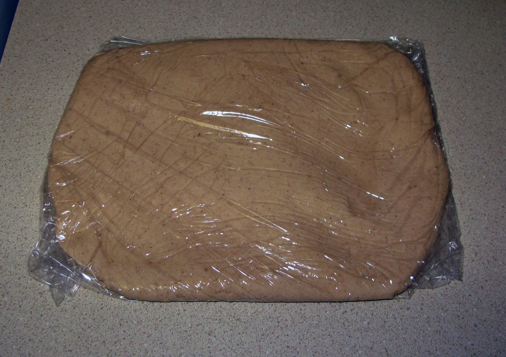 Apple Cider Cutout Cookie Dough Rectangle