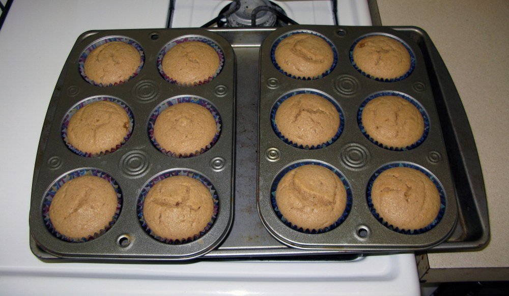 Baked Caramel Apple Cupcakes
