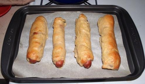 Baked Bagel Dogs (Full-Size)