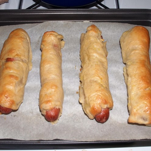 Baked Bagel Dogs (Full-Size)