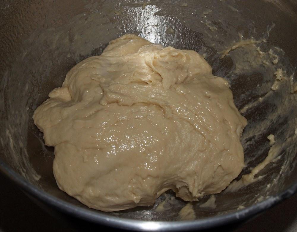 Greased Bagel Dog Dough