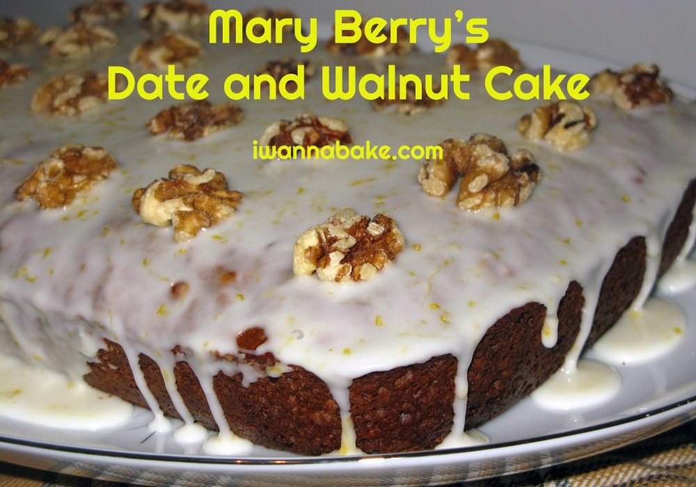 Mary Berry's Date and Walnut Cake