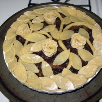 Mock Mincemeat Pie Before Baking