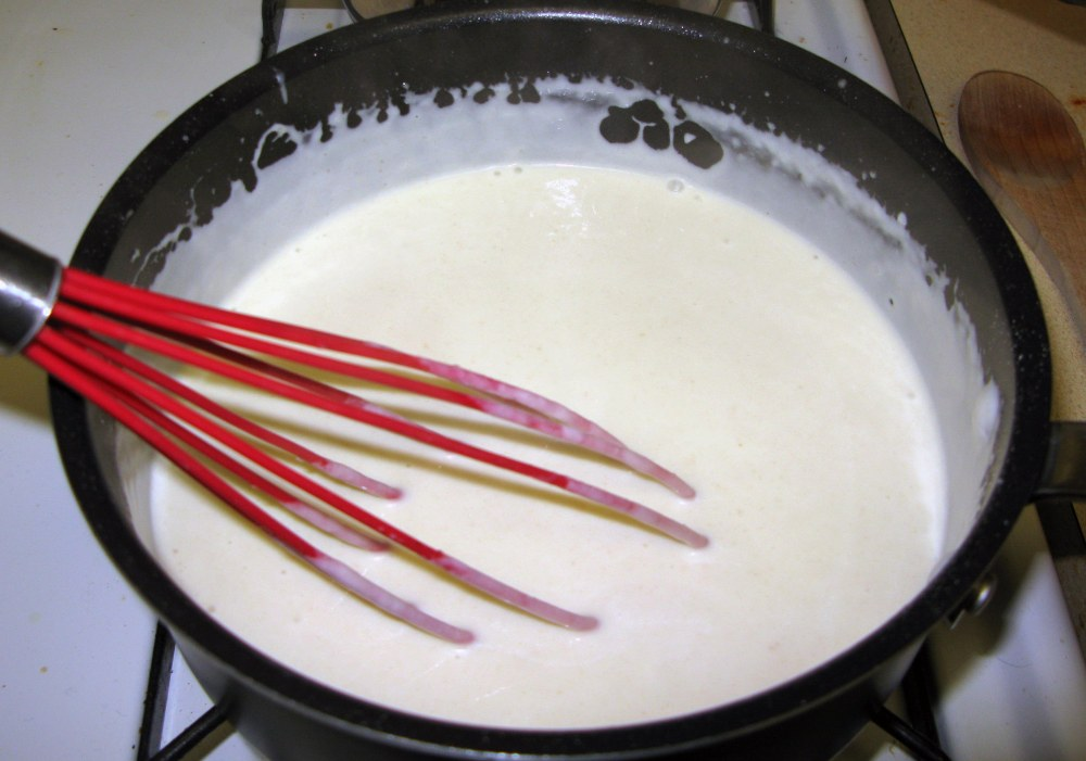 Thickened Bechamel Sauce