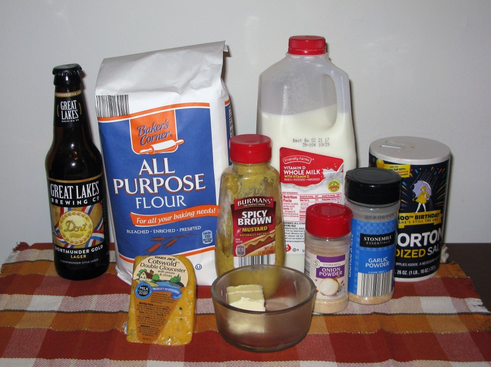 Beer Cheese Dip Ingredients