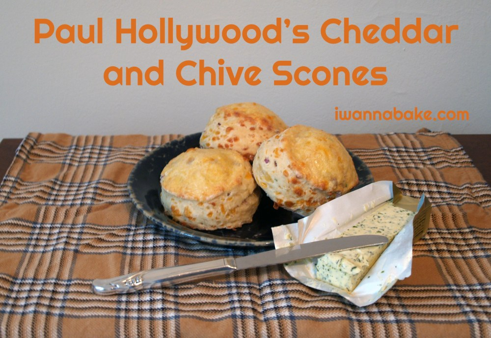 Paul Hollywood's Cheddar and Chive Scones