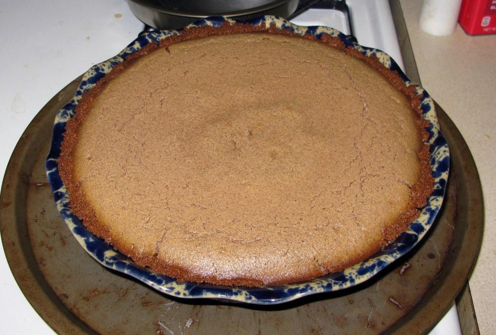 Baked Cinnamon Pie
