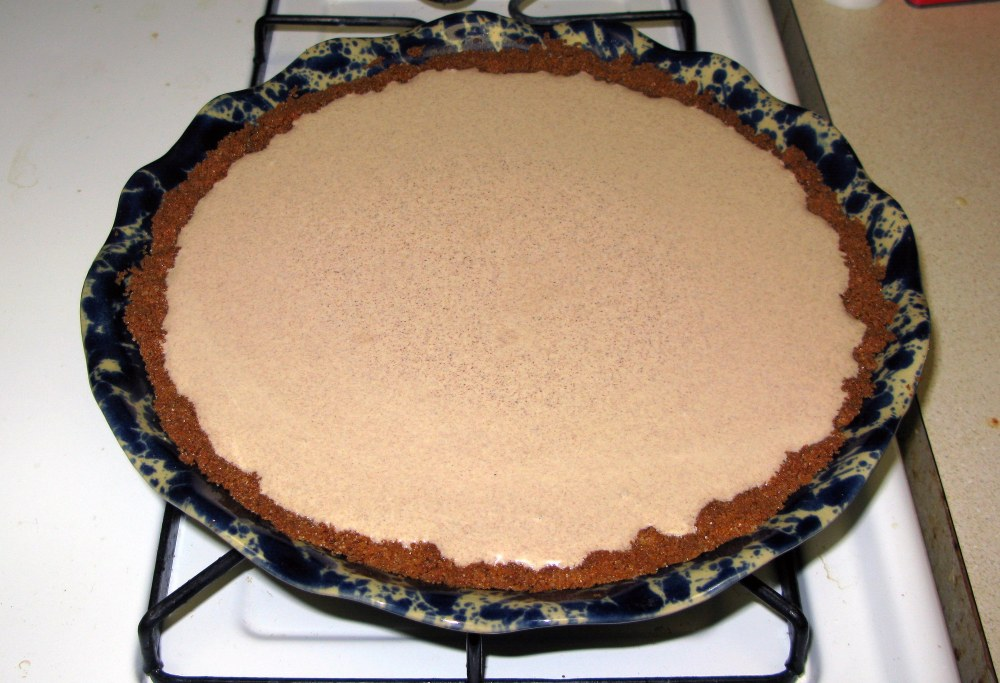 Cinnamon Pie Before Baking