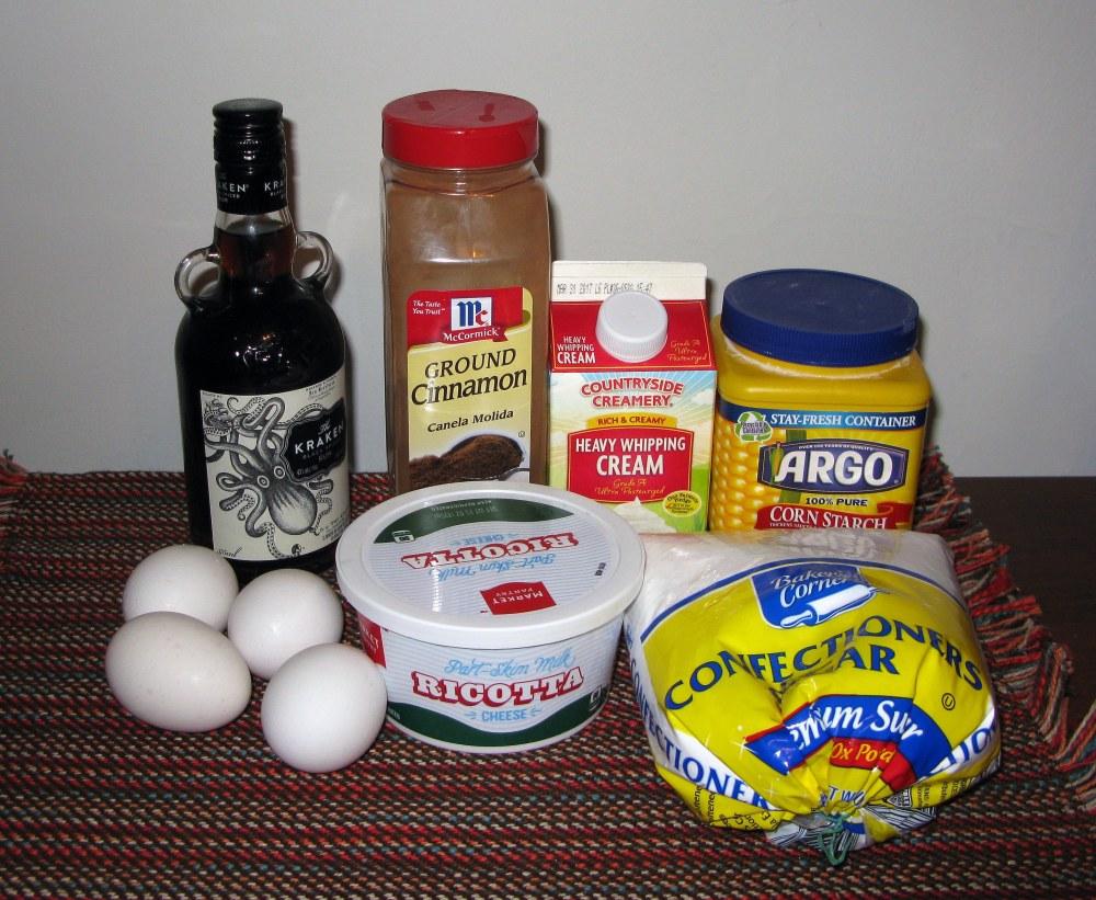 Cinnamon Pie Filling Ingredients