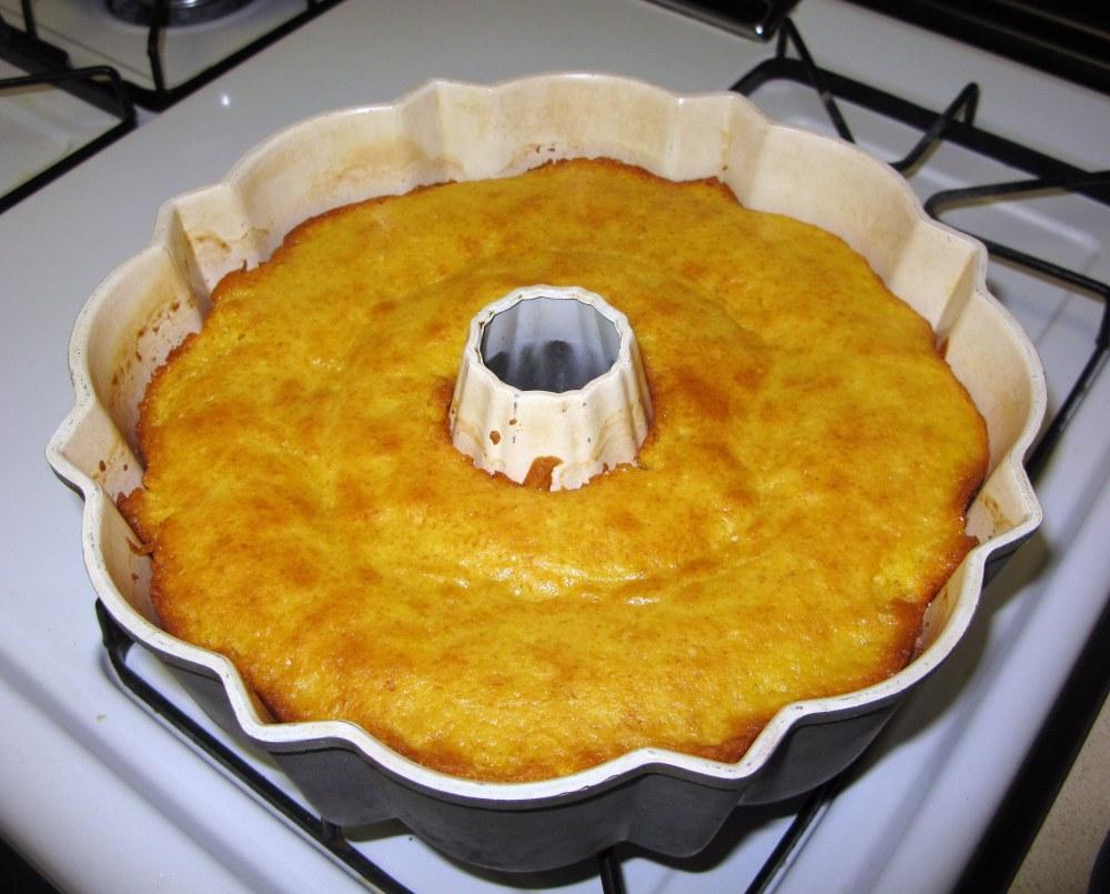 Baked Lemon Cake