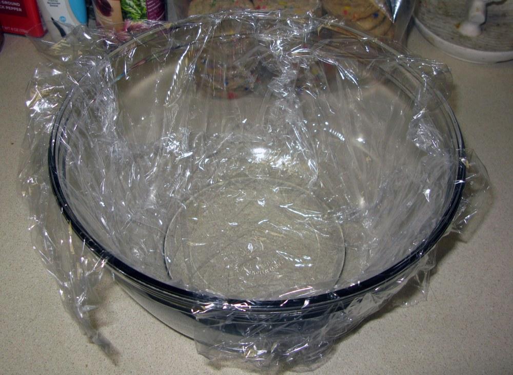 Ice Cream Mold with Plastic Wrap