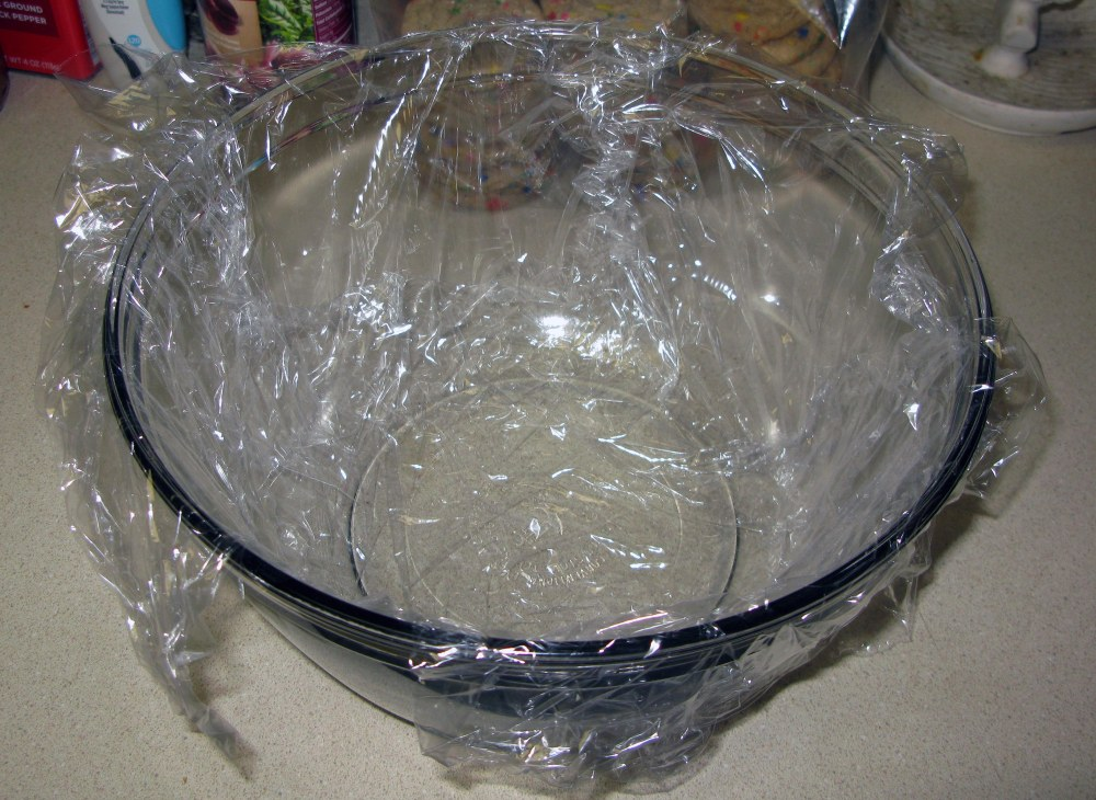 Ice Cream Mold with Plastic Wrap