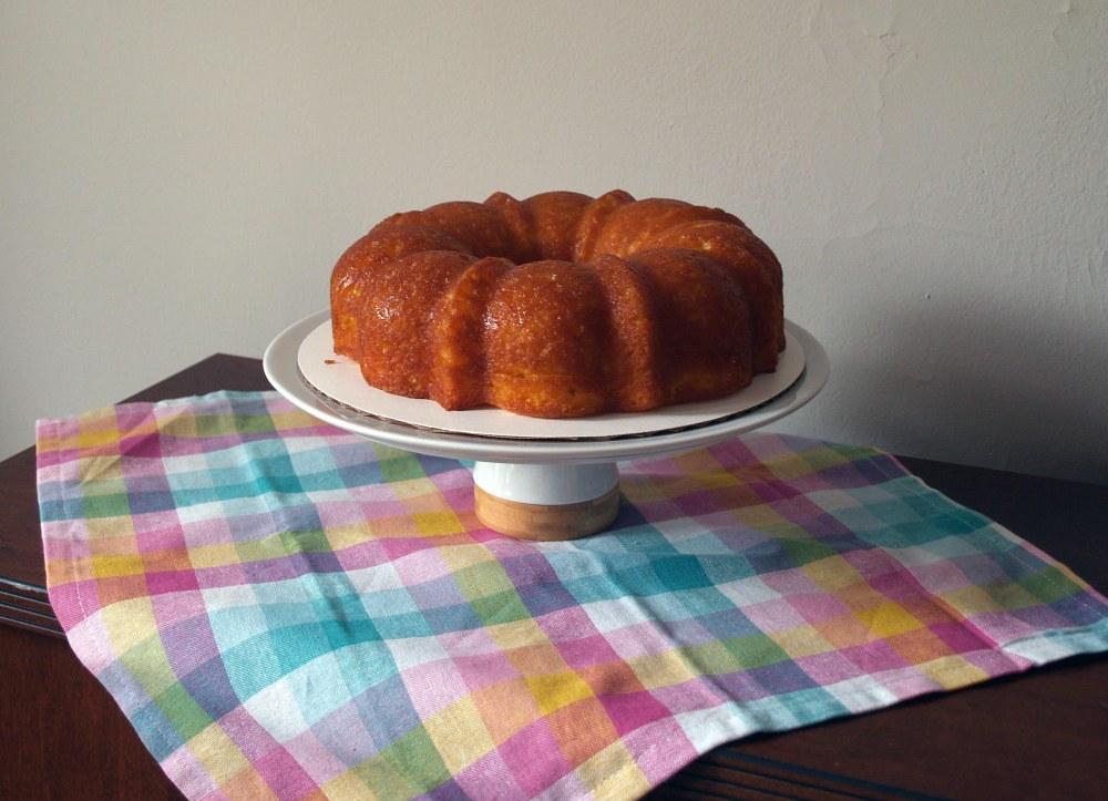 Lemon Juniper Bundt Cake