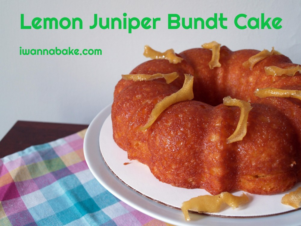 Lemon Juniper Bundt Cake