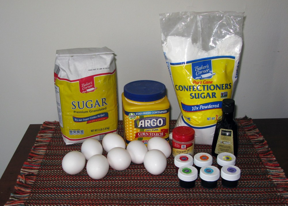 Meringue Topping Ingredients