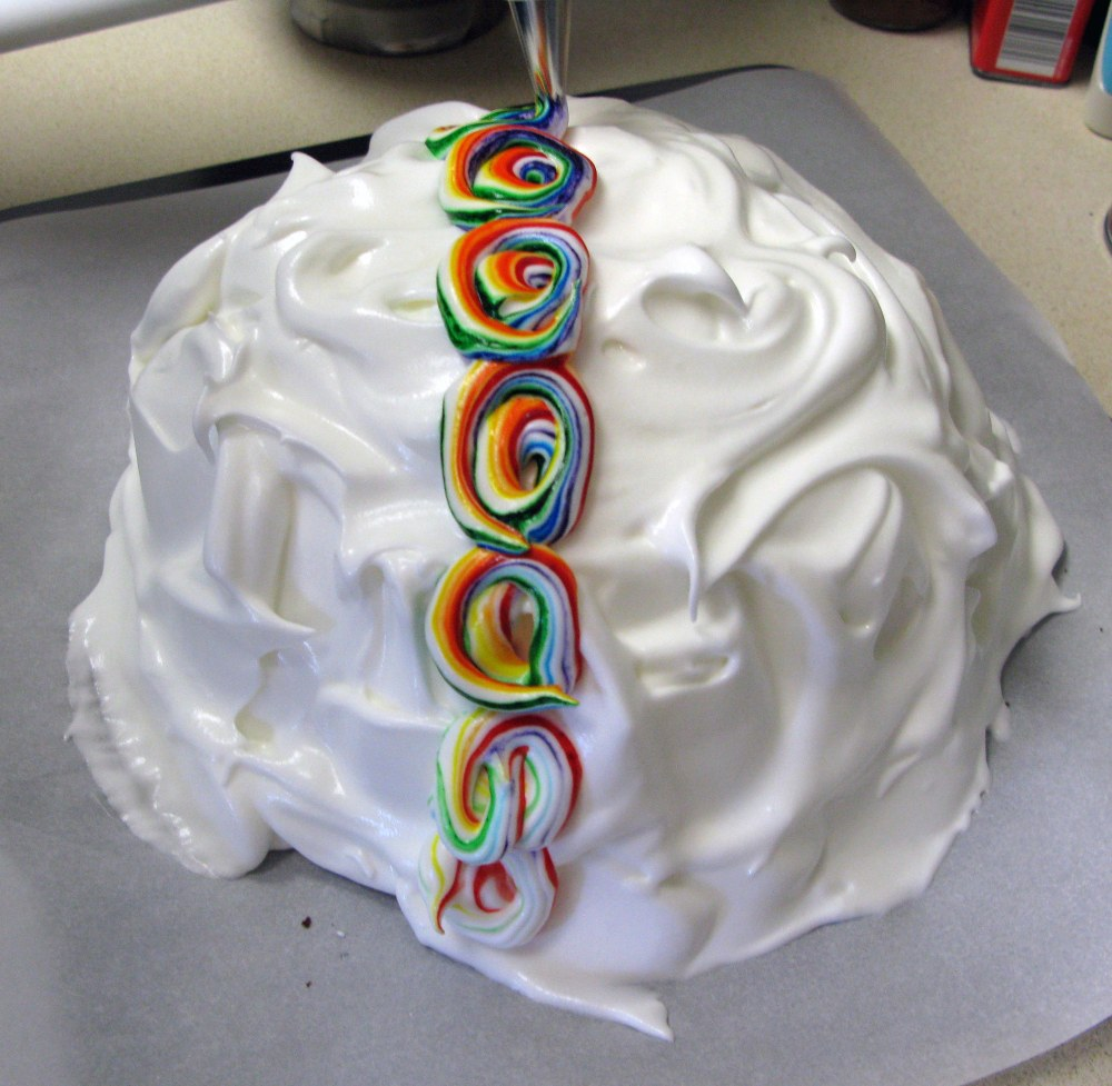 Rainbow Meringue Swirls 1