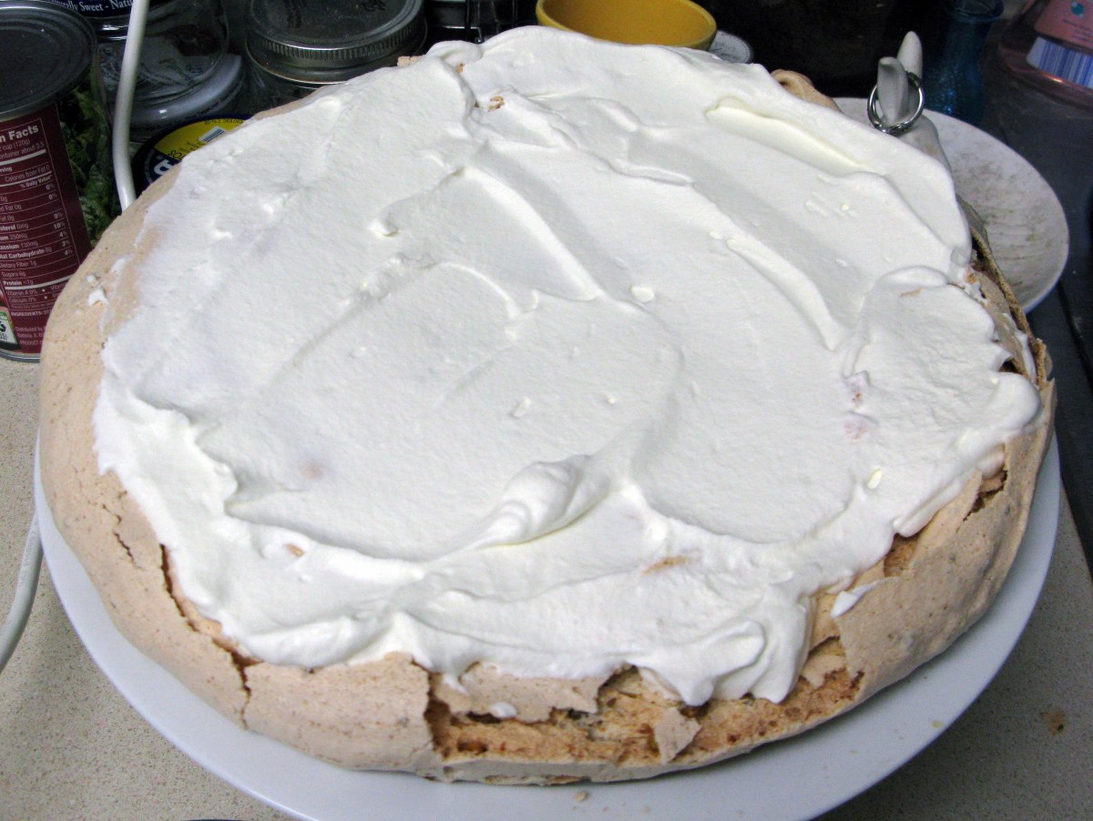 White Cream Layer