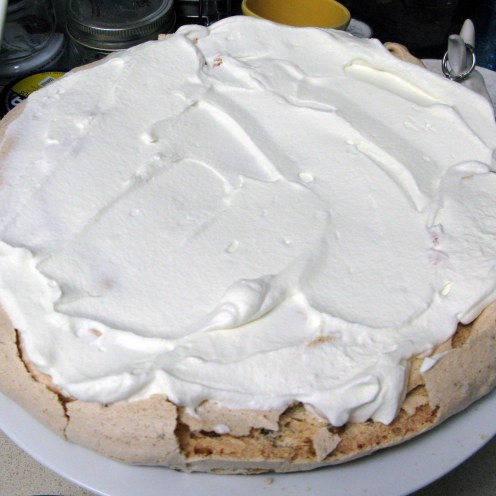 White Cream Layer