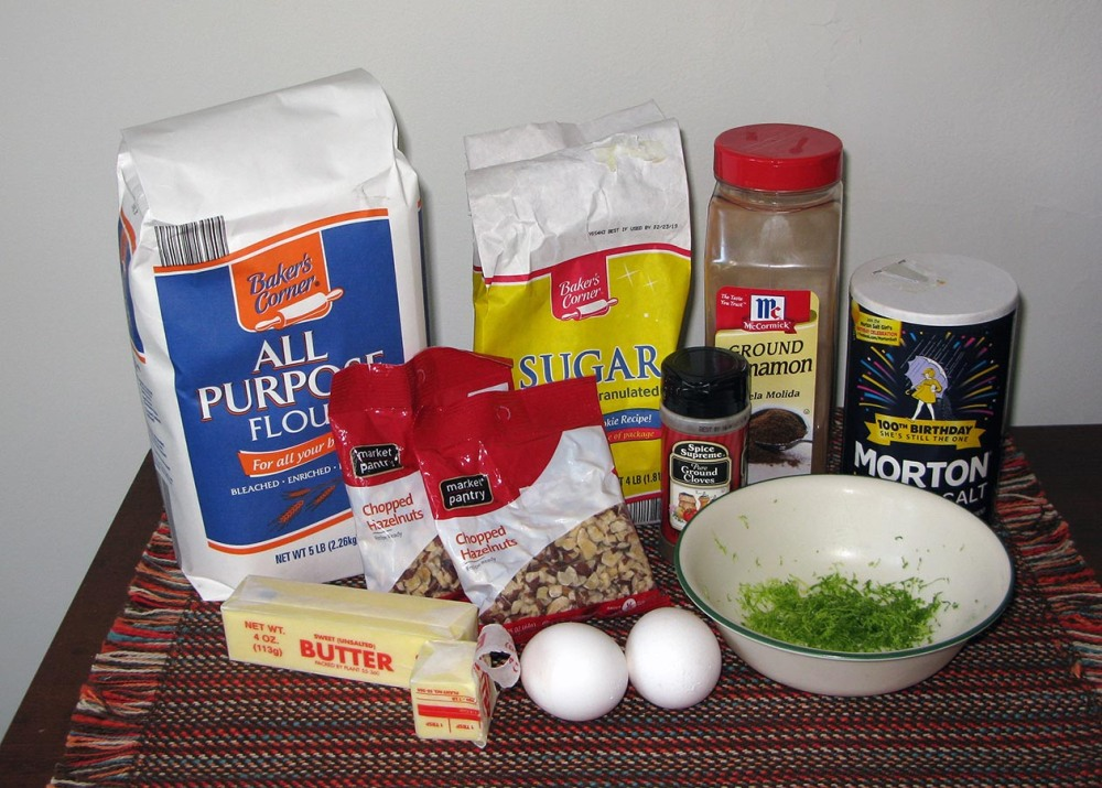 Aprium Linzertorte Crust Ingredients