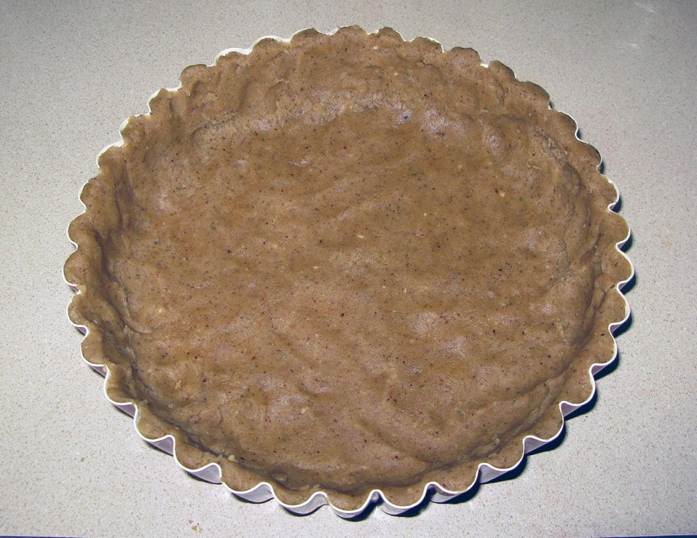 Crust Pressed into Tart Pan