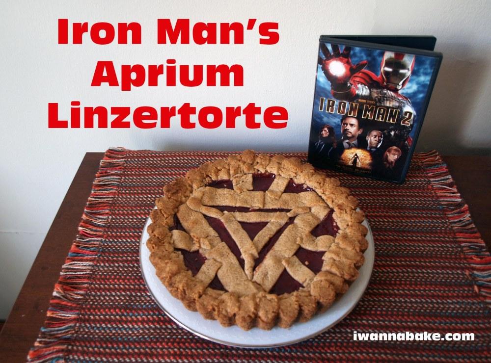 Iron Man's Aprium Linzertorte