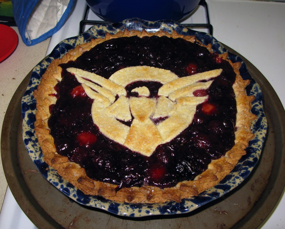 Baked Cherry Pie